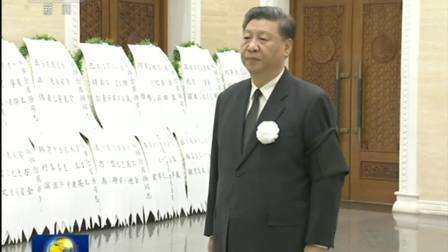 肖扬同志遗体在京火化