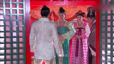 武媚娘回来了,萧淑妃拉住皇帝不让见,却拉都拉不住!