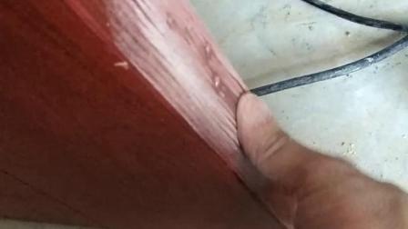 高档实木门钻错页合孔,教你如何用无痕技术快速修复补漆?(请观看免费视频教程!)