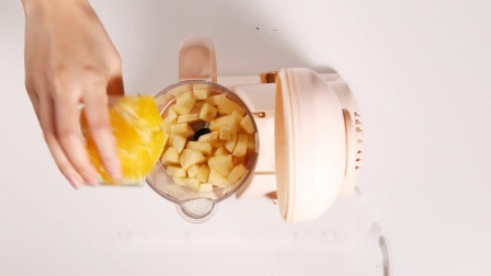 BEABA辅食分享:苹果橘子泥