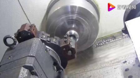 车方机车六方加工核电风电六角螺母!