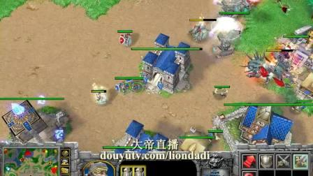 【炮灰流之英雄杀】魔兽争霸大帝解说 TH000 大帝 vs TeD Lyn 5-国语720P