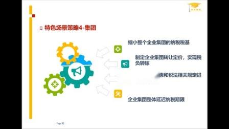 企业税务筹划策略课程(无片尾版)