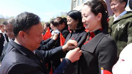 双鸭山市第四十中学师生同唱《我和我的祖国》