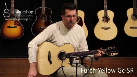 Furch Yellow Gc-SR demo played in Stageshop_Full-