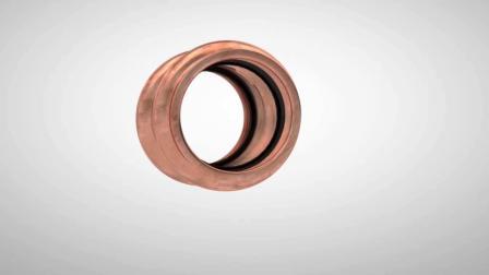 动画展示铜管的连接过程,你平时也是这么做的吗
