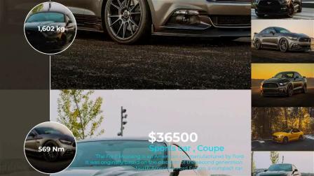 AE模板 简洁现代汽车新车型介绍图文展示视频栏目包装宣传片头