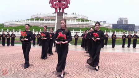 周立贞导师艺术模特全国教师第五期高级班户外大型旗袍秀《花开中国》