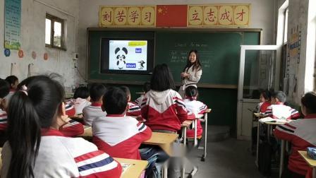 王丽飞PEP三年级下册英语第三单元第一课时课堂实录