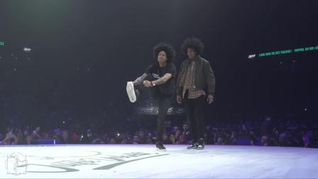 HipHop Best 16-Juste Debout 2019-Larry&Laurent VS Brotha E&Prince Wayne