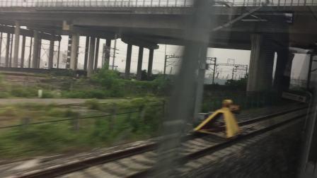G2385次运行于沪昆+杭黄高铁(杭州东经由杭州南至富阳站)全程视频