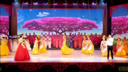 歌舞《不忘初心》梁平区旗袍文化协会演出