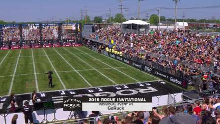 CrossFit 2019 Rogue Invitational  Go Ruck - Full Live Stream