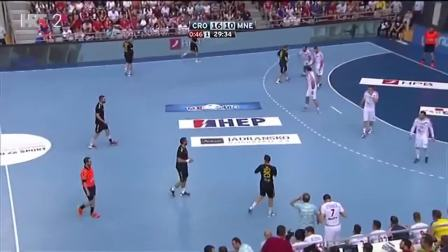 手球比赛 2019世界男子手球锦标赛1/4 克罗地亚vs黑山
