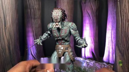 NECA Deluxe Armored  铁血战士 刺客铁血 Asassin Predator Review