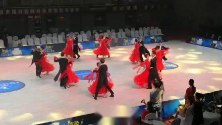 市老干协会国标舞队参加福田第六届体育舞蹈表演赛获特等奖第一名