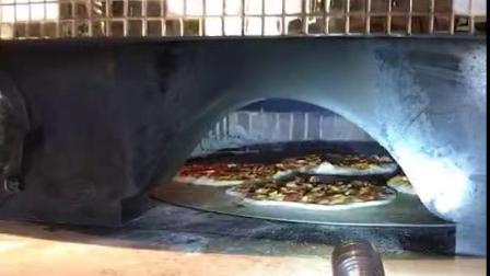 熔岩石窑炉果木柴旋转窑炉意大利进口面包炉比萨窑炉pizza oven 火山石烤炉