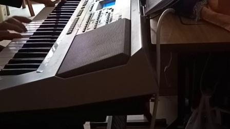 【梨花飞情人泪】,小谢小李。男女伴唱。电子琴演奏。