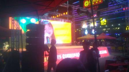 中国好声音全国海选广东揭阳普宁赛区总决赛普宁广场灯光舞台