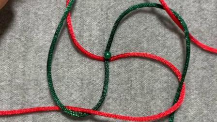 手工编绳基础结系列-方形玉米结视频教学芊巧手绳diy