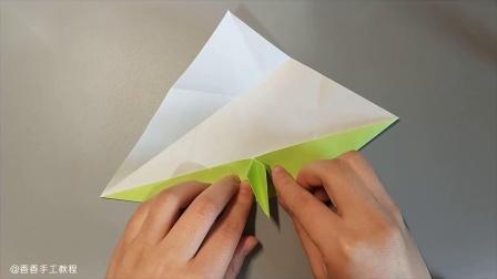 【香香手工】折纸圣诞花环