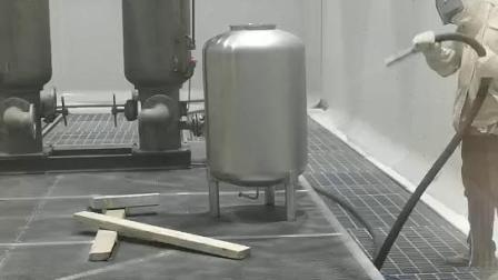 不锈钢产品喷砂加工
