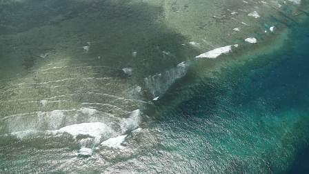 鸟瞰大堡礁