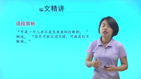 人教版高中语文必修三第3课 老人与海