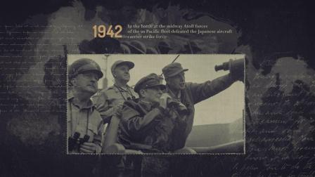 23712375 AE模板:我们的历史照片展示模板