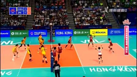 6月4日中国vs日本-世界女排联赛第3周第1轮香港站(国语)