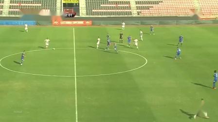 Latif 2018.10.20阿尔巴尼亚超右边锋KF Laci 0_3 KS Teuta Durrеs,蓝衣9号,第16、73分进球,24分助攻,上半场