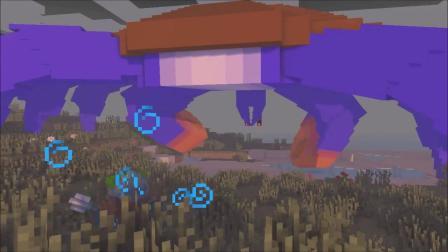 我的世界动画-巨型螃蟹 vs 尸壳-Yoorop