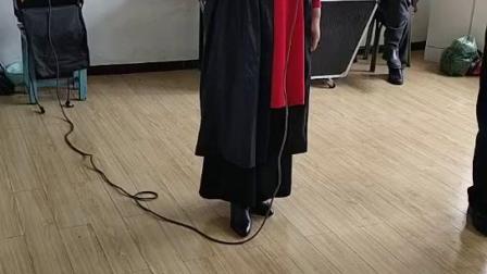 铜川市王益区 十二乐坊艺术团-张老师少林寺歌曲《日出嵩山坳》
