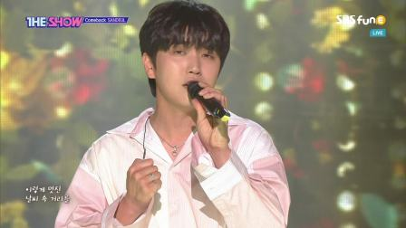 [LIVE]SANDEUL - One Fine Day (190611 SBSfunE The Show)
