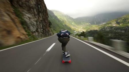 山路滑板-Mountain Pass in Switzerland【瑞士】