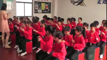 人音版小学一年级音乐下册第5课_游戏聆听跳绳-钟老师优质课视频(配课件教案)