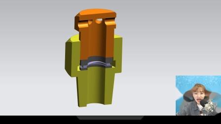【3D模型】稳稳消防工程师气体灭火系统安全泄放装置原理动画讲解