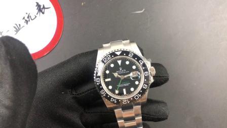 劳力士格林尼治型GMT绿针116710男士手表