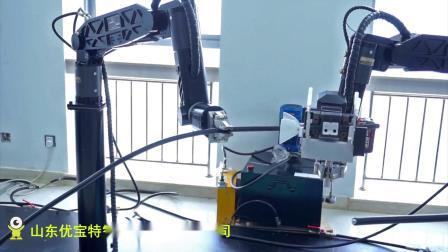 优宝特机器人液压机械臂带电接线操作