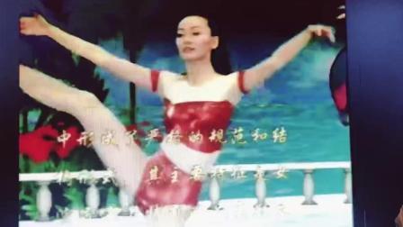 王莹 央视青春时光芭蕾形体 塑形