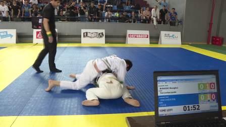 White-TEEN-50.00kg Teo Lechaczynski vs 闫志豪