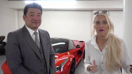 Most expensive Ferrari garage!