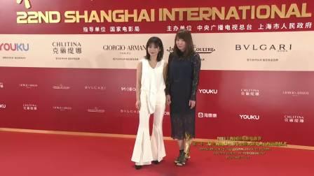 第22届上海国际电影节颁奖典礼 金爵奖动画片单元中国参赛片《动物特工局》,导演、制片人踏上红毯
