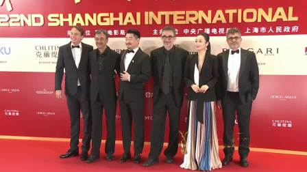 第22届上海国际电影节主竞赛单元评委集团亮相,走上红毯 第22届上海国际电影节金爵奖颁奖典礼 20190623