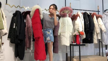 杭州知名老品牌【帛兰雅】羽绒服