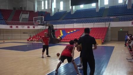 2019靖州县篮球教练员培训(技术训练)