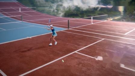 网球名将王蔷与邓禄普合作拍摄广告大片