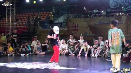 梁佳俊(w) vs 许承宇 - 8-4 - 少儿 openstyle1v1 - 国门之巅(东兴) Vol.3