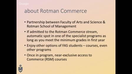 Rotman商学院选课