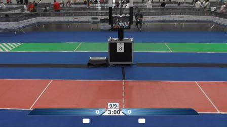 2019年欧洲击剑锦标赛 团体第6天 第二颜色区 红道2
